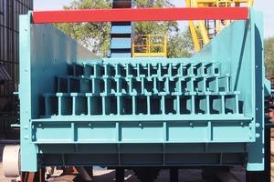 3Grobabscheider für Tunnelbruch • Coarse separator for material excavated from a tunnel