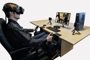 "<div class=""bildtext"">1Fahrertraining mit Simulator • Driver training with simulator</div>"