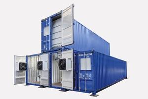 "<div class=""bildtext"">1 Container-Anlage – Seitenansicht<br />Container system – side view</div>"