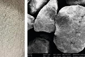 """<div class=""""bildtext"""">5 Aufgabegut Kalkstein # Limestone feed material</div>"""