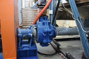 "<div class=""bildtext"">1 Schlammpumpe Warman WBH 100 • Warman WBH 100 slurry pump</div>"