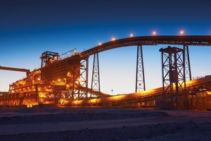 16 Spence Chile Kupferaufbereitung • Spence Chile copper processing