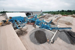"""<div class=""""bildtext"""">13 Aufbereitungsanlage bei Feess Erdbau • Processing plant at Feess Erdbau</div>"""