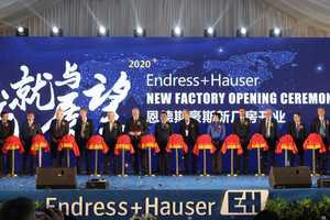 Inauguration of the new plant in Suzhou/China