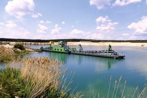 """<div class=""""bildtext"""">The WRX centrifugal pumps from Düchting have already been the """"heart"""" of the Habermann suction dredgers for years</div>"""