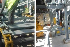 New AUMUND BPB-SLP Hybrid Feeder, a technical combination of Samson<sup>®</sup> Material Feeder and heavy-duty AUMUND BPB-SF Arched Plate Conveyor<br />