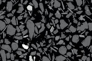 """<div class=""""bildtext"""">5 Rückstreuelektronenbild von zerkleinertem Wolframerz der Wolfram Camp Mine, Queensland/Australien, das die von den Gangmineralen (grau) getrennten und freigelegten Erzminerale zeigt. Die scharfkantigen Formen, insbesondere der silikatischen Gangminerale, dokumentieren, dass die Minerale freigelegt, aber nicht durch Umwälzen oder Mahlen abgerieben worden sind, was die Bildung von unerwünschten Feinpartikeln reduziert hat • Backscatter electron microscope image of tungsten ore from Wolfram Camp Mine, Queensland/Australia, showing ore minerals (white) liberated from gangue minerals (grey). Note the sharp angular shapes, particularly of the silicate gangue minerals, which document that the minerals have been liberated but not abraded from tumbling or milling, which reduced the generation of fines</div>"""