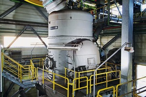 "<div class=""bildtext"">Eine LOESCHE-Mühle des Typs LM 28.2 D im Kraftwerk Schwarze Pumpe, Deutschland •A LOESCHE mill type LM 28.2 D at the Schwarze Pumpe power station, Germany</div>"