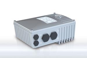 """<div class=""""bildtext"""">Dezentraler Frequenzumrichter SK 180 E – NORDAC BASE • Decentralised SK 180 E – NORDAC BASE </div>"""