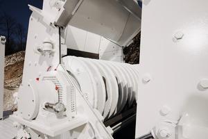 """<div class=""""bildtext"""">2HAZEMAG-Hammermühle – Scheibenrotor • HAZEMAG Hammer mill – disk rotor</div>"""