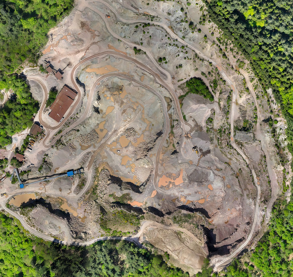 Managing quarries flexibly, fast and cost-efficiently with
