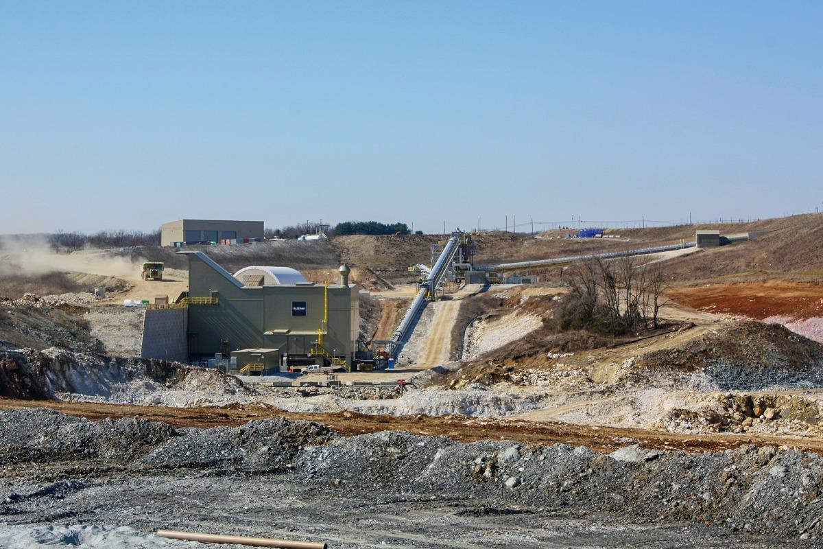 Lehigh Cement – Union Bridge Project - Mineral Processing