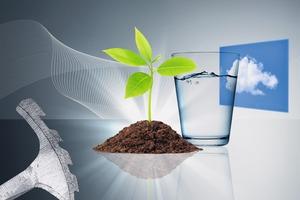 """<div class=""""bildtext"""">2Leicht aushärtende Stoffe finden sich in vielen Industriebereichen, insbesondere in der Umwelttechnik • Rapidly curing materials can be found in many industrial sectors, especially in environmental engineering</div>"""