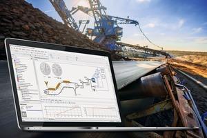 Angewandte Dynamiksimulation bei Gurtförderern • Applied dynamic simulation for belt conveyors