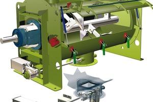 """<div class=""""bildtext"""">MAP-Mischer zur Herstellung von Lithium-Ionen-Batterien # MAP mixer for the production of Lithium-Ion batteries </div>"""