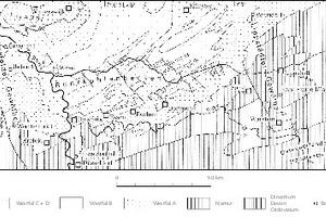 """<div class=""""bildtext"""">2 Ruhrkohlenbecken [37, S. 3] # The Ruhr Coal Basin [37, p. 3]</div>"""