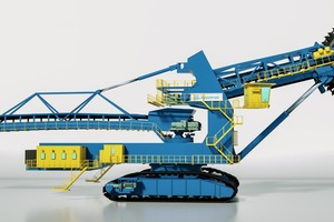 "<div class=""bildtext"">Neu entwickelter thyssenkrupp barracuda-Schaufelradbagger • Newly developed thyssenkrupp barracuda bucket wheel excavator</div>"