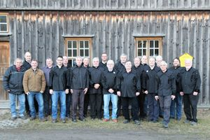 "<div class=""bildtext"">2 Mitglieder des Bergbauvereins Schneeberg/Erzgebirge e.V. • Members of the Bergbauverein Schneeberg/Erzgebirge </div>"