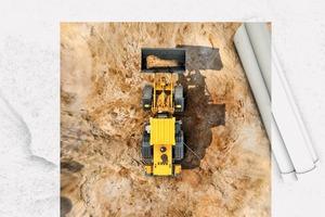 """<div class=""""bildtext"""">2 ProViu 360 von Continental erstellt aus den Bildern von vier Fischaugenkameras eine virtuelle Vogelperspektive der Baumaschine • ProViu 360 von Continental creates a virtual bird's eye view of the construction machine from the images of four fisheye cameras</div>"""