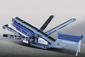 "<div class=""bildtext"">2 Die mobile Siebanlage MOBISCREEN 953 EVO bringt sowohl im Naturstein als auch in Recyclinganwendungen eine hohe Leistung The mobile screening plant MOBISCREEN 953 EVO has a high performance in both natural stone as well as recycling applications</div>"