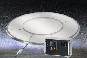 """<div class=""""bildtext"""">2 Ultraschalltechnik sorgt für einen geringeren Steckkornanteil und längere Reinigungsintervalle • Ultrasonics reduce blinding and pegging and ensure longer cleaning intervals</div>"""