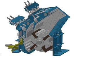 """<div class=""""bildtext"""">5 Brechraum von thyssenkrupp Prallbrechern • Crushing chamber of thyssenkrupp impact crushers</div>"""