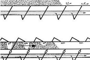 "<div class=""bildtext"">3 Oben: Übliches Bypass-System, unten: AIRCONDOS<sup>©</sup> Bypass-System • Top: Conventional bypass system, bottom AIRCONDOS<sup>©</sup> bypass system</div>"
