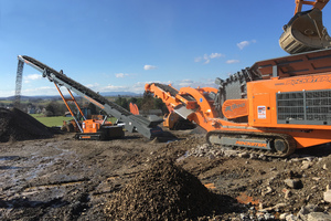 "<div class=""bildtext"">4<br />The impact crusher R900 with Duplex System together with the stacker RST18 at the processing of concrete</div>"