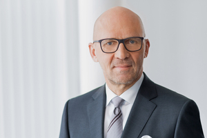 """<div class=""""bildtext"""">Klaus Dittrich, Chairman and CEO of Messe München: """"What we will experience on these seven days in Munich will be gigantic""""</div>"""