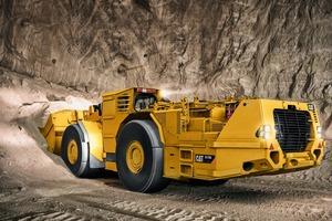 """<div class=""""bildtext"""">1 <irspacing style=""""letter-spacing: -0.004em;"""">Der neue Untertage-Fahrlader CatR1700 mit 257kW (350PS) Motorleistung und einem zulässigen Gesamtgewicht von rund 63t<br />The new CatR1700 underground LHD loader with 257kW (350hp) motor power and a permissible total weight of around 63t</irspacing></div>"""