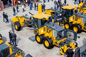 The 622GP is one of two motor graders that John Deere is offering in Germany and France via the Wirtgen Group's sales network