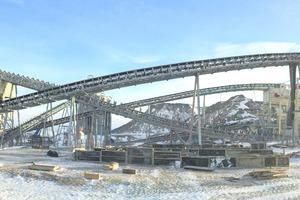"""<div class=""""bildtext"""">Brech- und Siebanlage in einer kasachischen Kupfermine • Crushing and screening plant in a Kazakh copper mine</div>"""