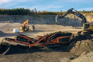 """<div class=""""bildtext"""">3 Professionelles Recycling von Baurestmassen ist ein wichtiger Geschäftszweig der Swerock Recycling AB in Schweden • Professional recycling of construction waste is an important business activity of Swerock Recycling AB in Sweden</div>"""