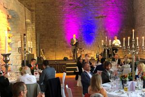 Abendveranstaltung und Dinner im Hambacher Schloss Quelle: vero