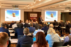 Raimo Benger eröffnet die Mitgliederversammlung und begrüßt die Teilnehmer Quelle: vero
