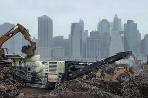 """<div class=""""bildtext"""">16 Aufbereitung von Bauschutt • Processing of demolition rubble </div>"""