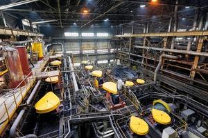 "<div class=""bildtext"">16 Flotationsanlage bei Olimpiakos • Flotation plant at Olimpiakos </div>"