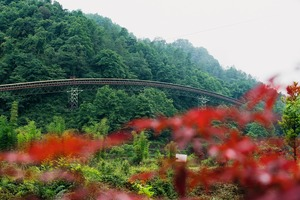 """<div class=""""bildtext"""">1 Sichuan project: whenever technically possible, the routing of the conveyor has been adapted to the topography</div>"""