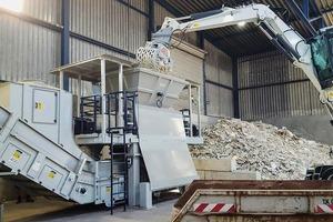 """<div class=""""bildtext"""">Das Recycling von Gipskartonabfällen gewinnt künftig an Bedeutung </div>"""