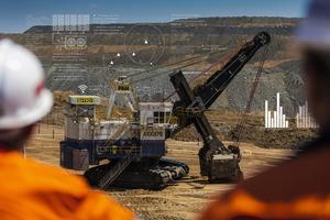 "<div class=""bildtext"">Smart coal mining in Australia</div>"