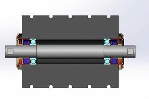 """<div class=""""bildtext"""">2 Bearing concept for belt conveyor rollers</div>"""
