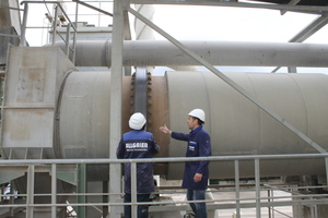 "<div class=""bildtext"">4 Combined drying and cooling drums are used especially for the treatment of minerals, for example in the construction materials industry</div>"