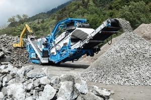 "<div class=""bildtext"">1 At the Calanda Recycling plant in Bonaduz a new rock crusher of the type GIPOREC R&nbsp;131&nbsp;FDR&nbsp;GIGA&nbsp;DA has been operation since May 2020</div>"