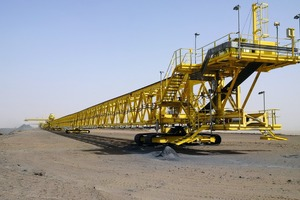 "<div class=""bildtext"">16 Mobile bridge stacker for DST iron ore tailings </div>"