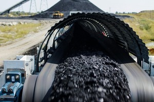 """<div class=""""bildtext"""">2 Der Overland Conveyor transportiert die Kohle vom Untertagebergwerk zur Hauptaufbereitungsanlage</div>"""