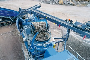 """<div class=""""bildtext"""">3 The mobile cone crusher MOBICONE MCO 11 PRO is the perfect plant for applications from the second crushing stage onwards and in combination with the jaw crushing plant MOBICAT MC 120 Z PRO</div>"""