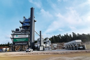 """<div class=""""bildtext"""">4 The transportable asphalt mixing plant from BENNINGHOVEN produces asphalt directly in the quarry</div>"""