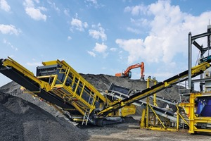 """<div class=""""bildtext"""">2 Keestrack C6e classifier in closed circuit with the primary and secondary roller crusher</div>"""