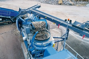 """<div class=""""bildtext"""">2 Cone crushers are the perfect plants for applications from the second crushing stage onwards and in combination with jaw crushers</div>"""