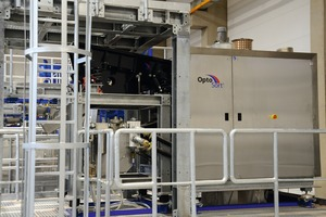 """<div class=""""bildtext"""">7 Front view of the freefall sorter in the IAB Recycling Testing Centre</div>"""